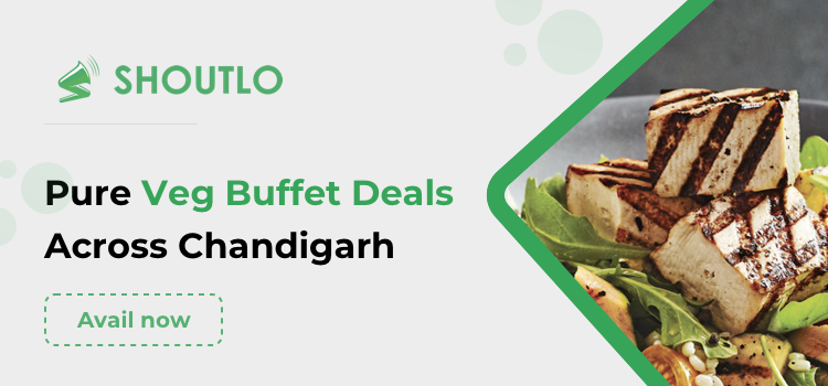 pure veg buffet in chandigarh
