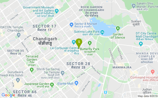 Captain Sam's Sec 26 Chandigarh Address
