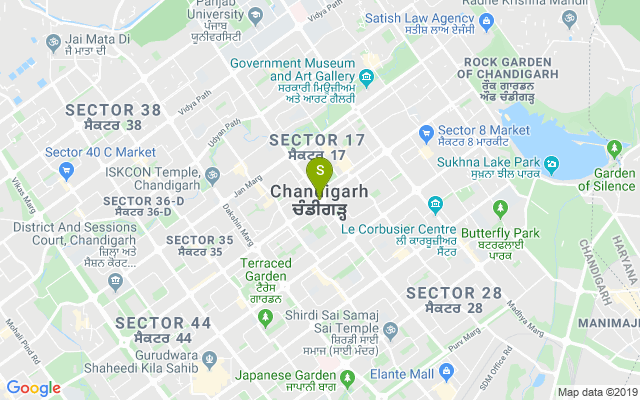 Chandigarh city Address