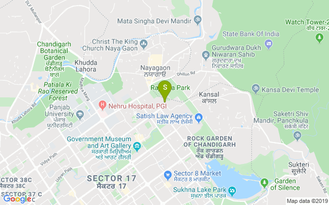 Chandigarh Club Address