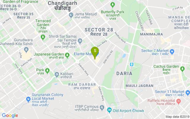 Elante Mall Address