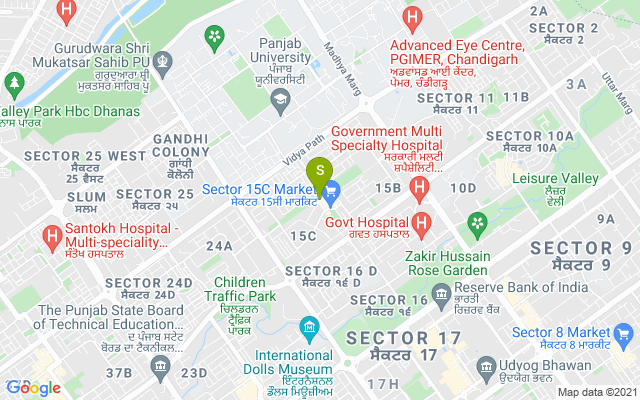 Foot Spa Cafe 15 Chandigarh Address