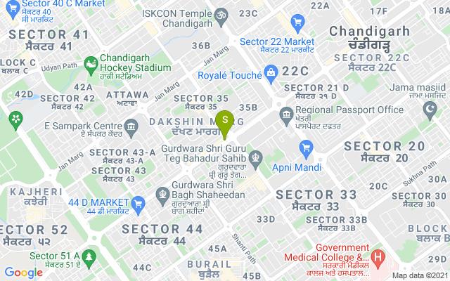 Foot Spa Cafe 35 Chandigarh Address