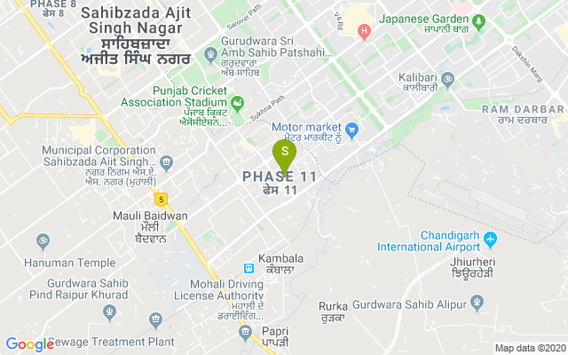 Glamzone Phase 11 Mohali Address