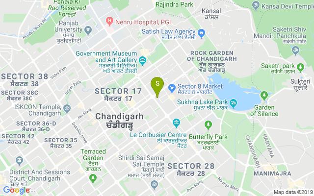 Headmasters Sec-8 Chandigarh Address