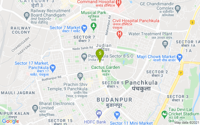 Knuckout Unisex Salon & Spa Panchkula Address