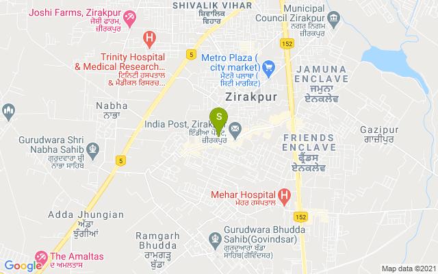 Knuckout Unisex Salon & Spa Zirakpur Address