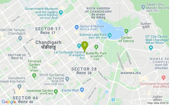 S Lounge Chandigarh Address