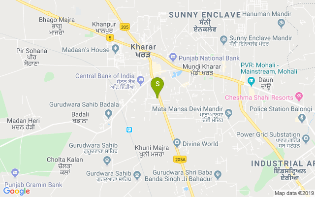 Strands Lite Kharar Address