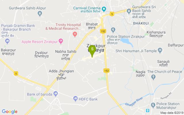 Strands Lounge Zirakpur Address