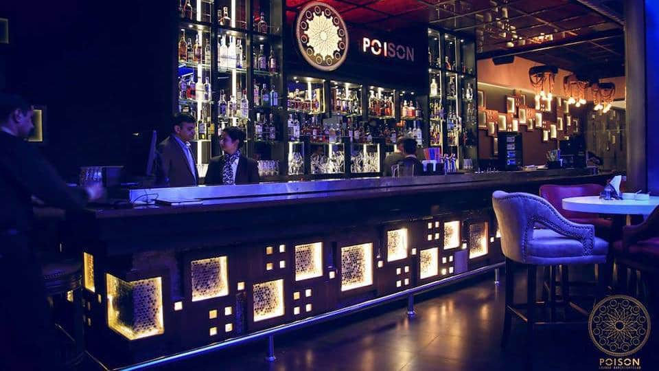 Poison Lounge Bar Sector-17 Chandigarh