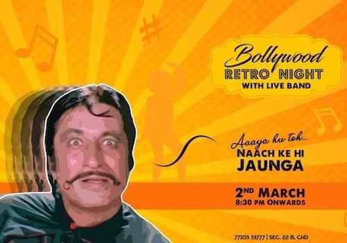 bollywood retro night at xtreme chandigarh 2 march 2019