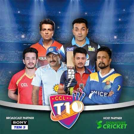 celebrity cricket leauge 2019 chandigarh