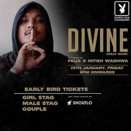 divine live playboy club chandigarh