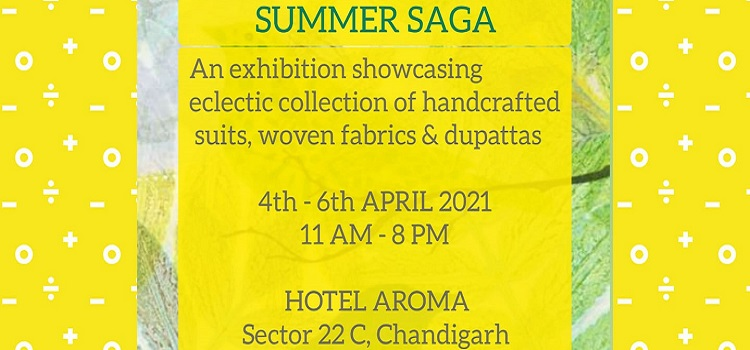 Summer Saga Exhibition At Hotel Aroma Chandigarh