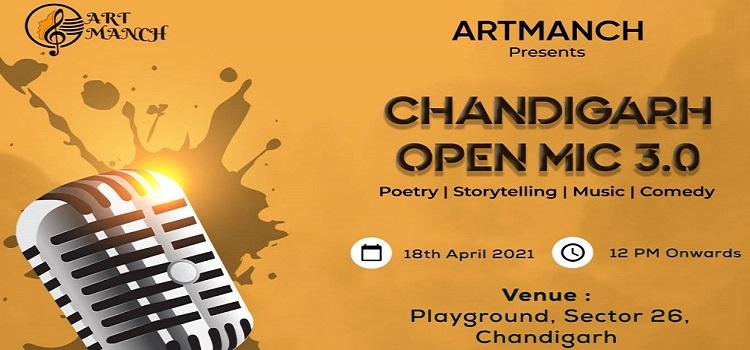 Chandigarh Open Mic 3.0 At Playground Chandigarh