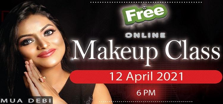Online Makeup Class By MUA Debi