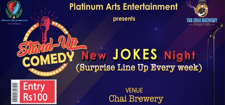 The Chai Brewery Presents Stand Up Open Mic