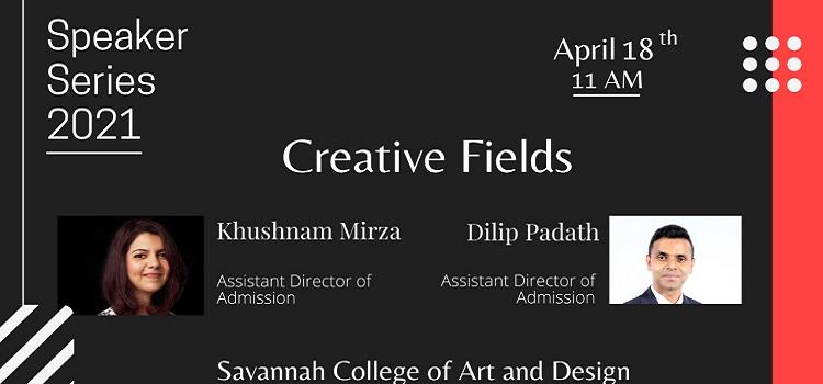 Creative Field Presents Speaker Series