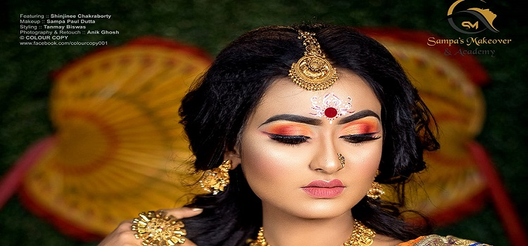 Professional Online Makeup Course By Sampa Makeover