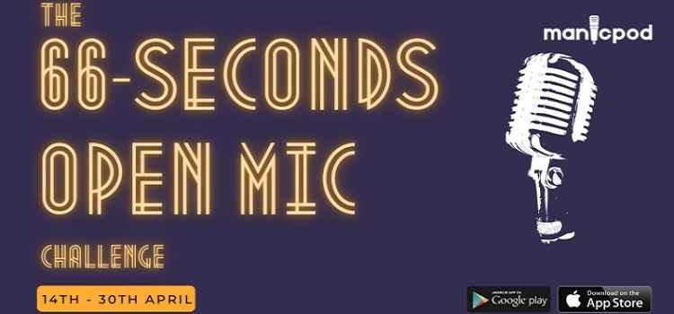 66 Second Open Mic Challenge Online