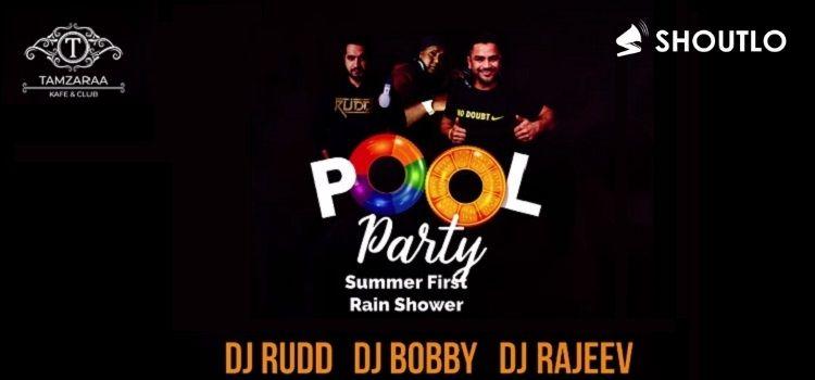 Pool Party At Tamzaraa Resort Morni
