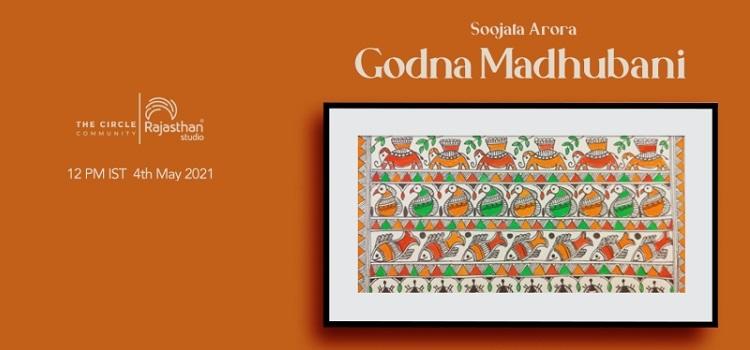 Godna Madhubani Workshop by The Circle Community