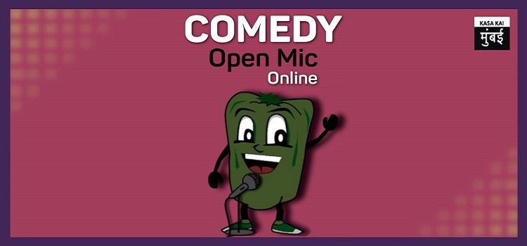 Comedy Open Mic - Virtual Event