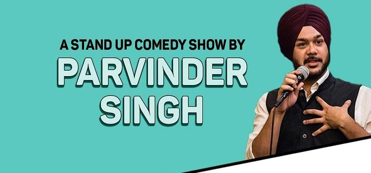 Online Stand-Up Comedy Show ft. Parvinder Singh