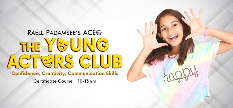 Young Actors Club Online Workshop - Raell Padamsee