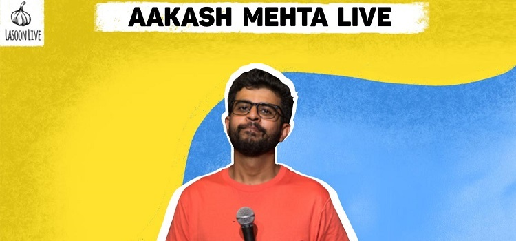 Online Comedy Event by Aakash Mehta