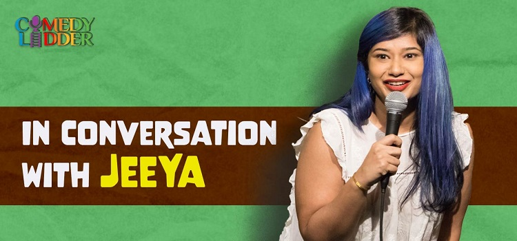 Comedy Ladder presents Conversation with Jeeya by Online Events
