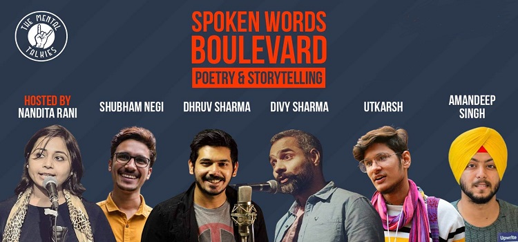 Spoken Words Boulevard by The Mental Talkies