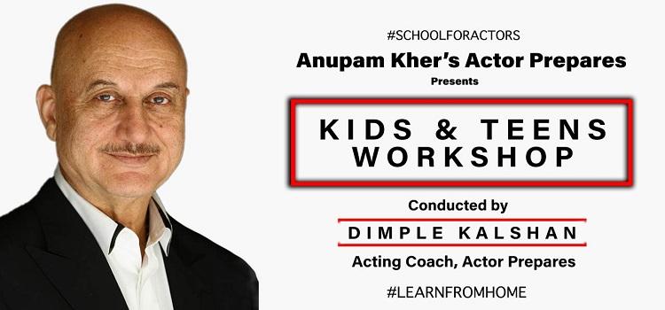 Kids & Teens Workshop by Dimple Kalshan