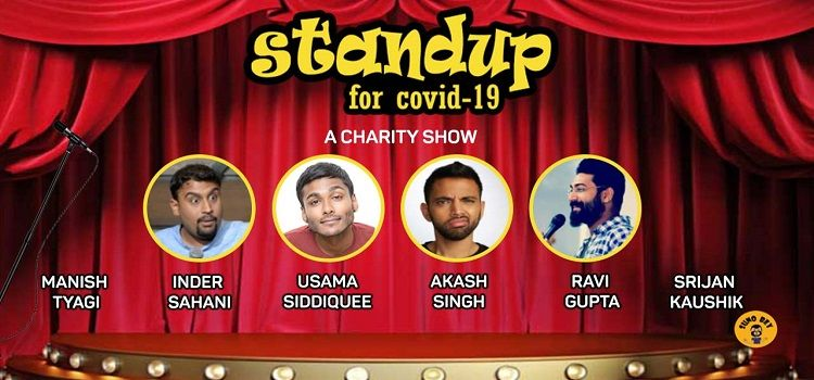 Stand Up Solo for COVID-19: A Charity Show