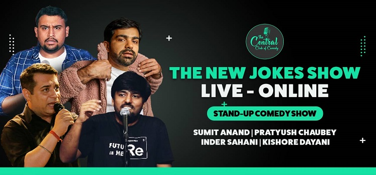 The New Jokes Show: Online Stand-Up Comedy