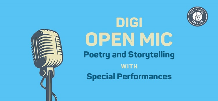 The Mental Talkies presents Digi Open Mic