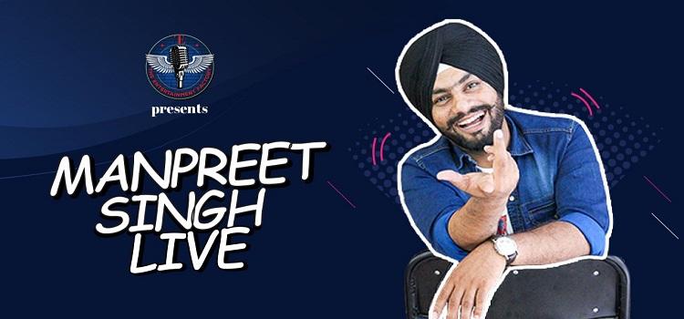Manpreet Singh Goes Live!