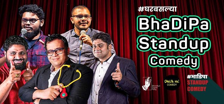BhaDiPa: Online Stand-Up Comedy