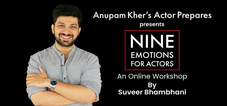 Nine Emotions For Actors: Workshop by Suveer