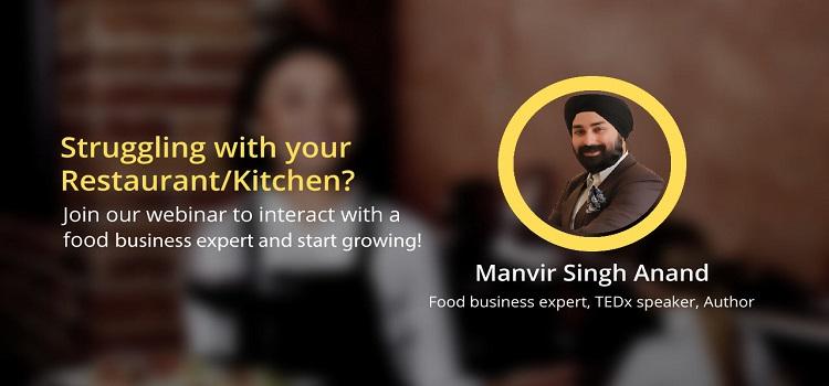Online Webinar with a Food Business Expert