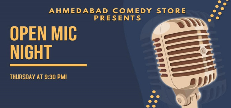 Ahmedabad Comedy Store presents Open Mic Night