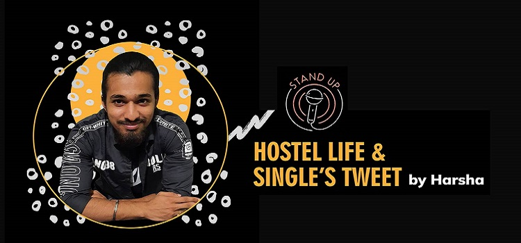 Hostel Life and Single's Tweet