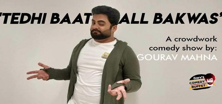 A Crowd Work Comedy Show ft. Gaurav Mahna