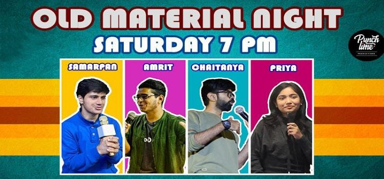 Punchlime presents Old Material Night