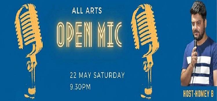 All Arts presents Open Mic Event