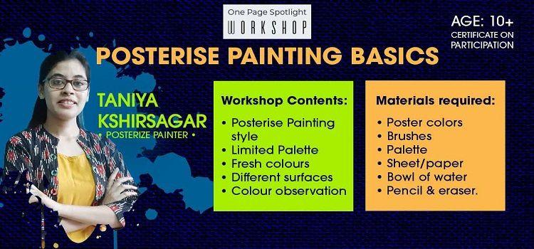 Online Workshop on Posterise Painting Basics