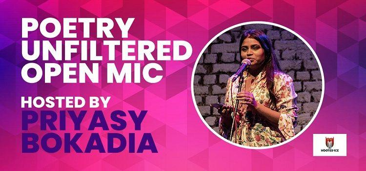 Online Poetry Open Mic ft. Priyasi Bokadia
