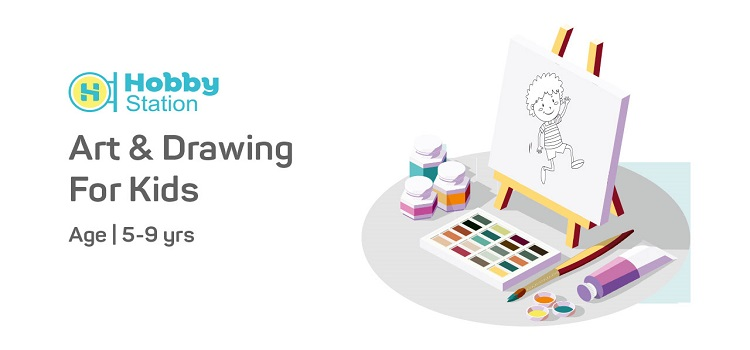 Online Art & Drawing Workshop for Kids