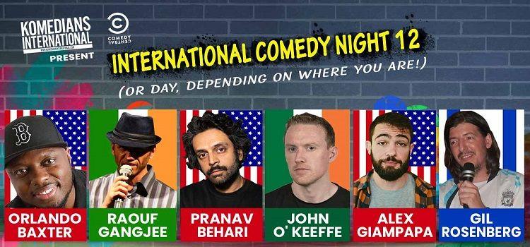 Comedy Central presents International Comedy Night